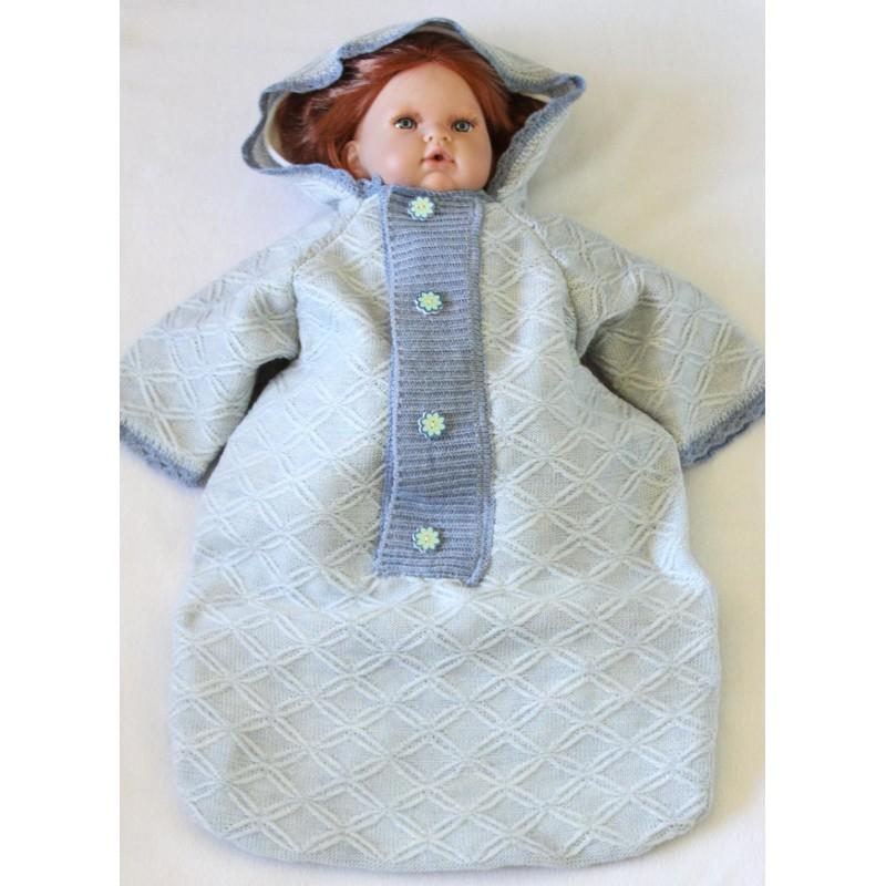 Knitted Baby Nest Envelope Sleeping Bag